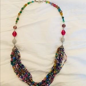 Beautiful beaded necklace in good condition